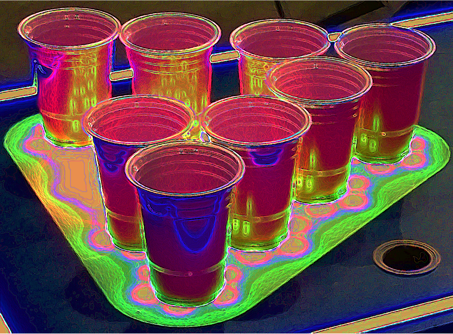 Colorful Drink
