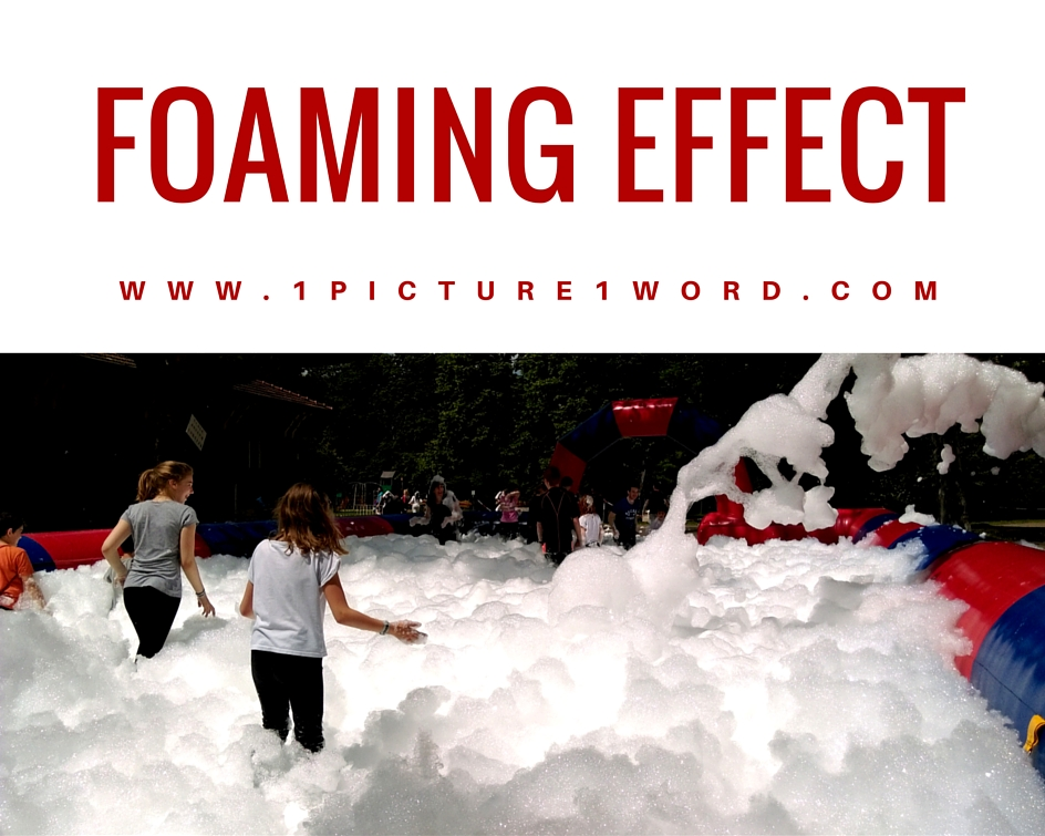 1 Picture 1 Word Foaming Effect